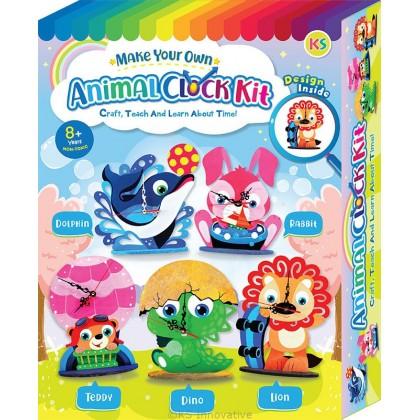 Animal Clock Stand Box Kit