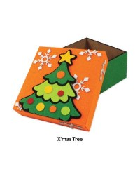 Felt Christmas Gift Box