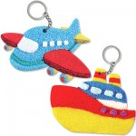 Foam Clay 2-in-1 Transport Keychain Kit