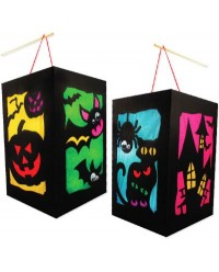 DIY Halloween Lantern Pack of 10