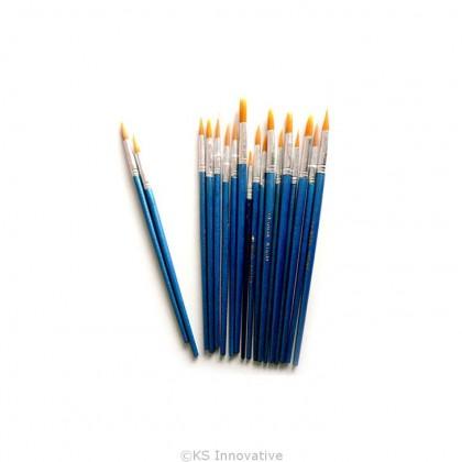 Paint Brush (Blue) Pack of 10