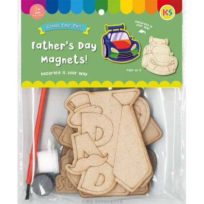 Father's Day Magnet Pack of 5