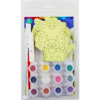 5-in-1 Sand Art Animal Board Kit