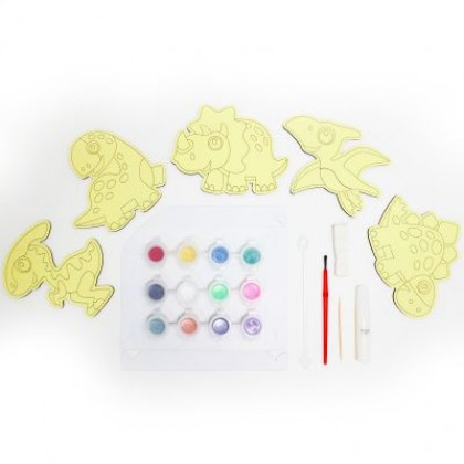 5-in-1 Sand Art Dino Board Kit