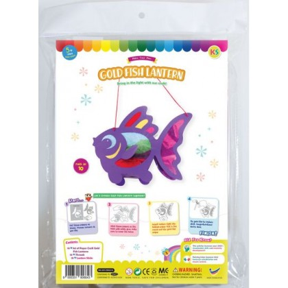 Goldfish Lantern Pack of 10 - With LED Lights
