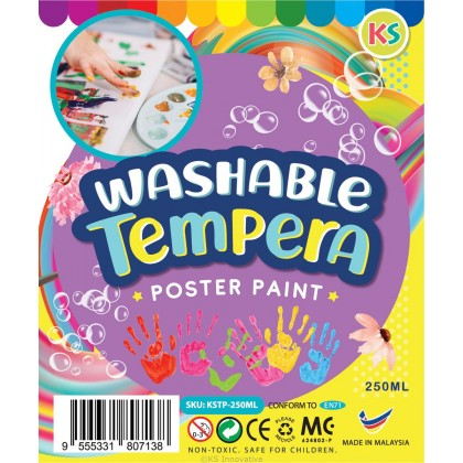 WASHABLE TEMPERA PAINT - 250 ML