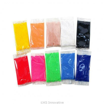 10-in-1 Colour Sand Satchets Pack of 2