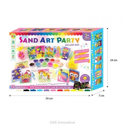 *NEW* Sand Art Party Pack Deluxe Box