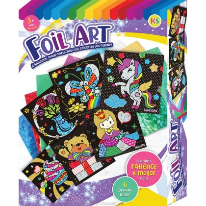 Foil Art Box Kit - 6-in-1