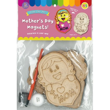 Mother's Day Magnet Pack of 5