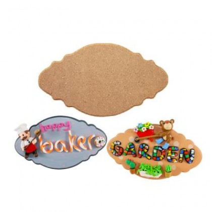 MDF Plaque 6mm (Frilly) (Loose)