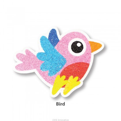 5-in-1 Sand Art Bird Board Kit / Loose