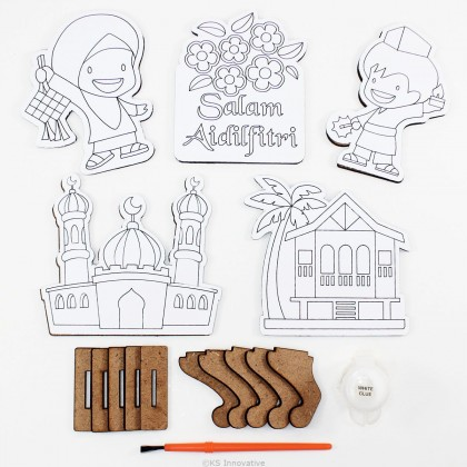 Wooden Raya Stand - Pack of 5